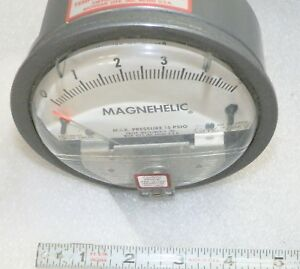2005 0 5 Water Dwyer Magnehelic Differential Pressure Gauge Lite Use