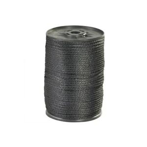 thornton s Solid Braided Nylon Rope 1 8 320 Lb Black 500