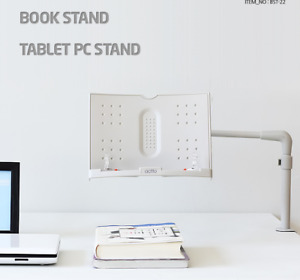 Actto Flexible Arm Book Tablet Pc Stand Document Paper Reading Stand Bst 22