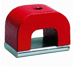 370 12 Horseshoe Power Alnico Magnets 42 pound Pull