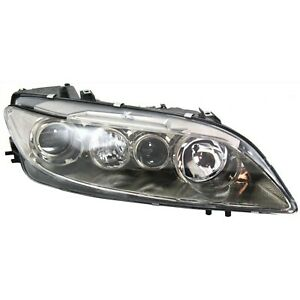 Headlight For 2003 2004 2005 Mazda 6 S I Models Right Clear Lens