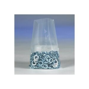 thornton s Flat 4 Mil Poly Bags 10 X 18 Clear 500