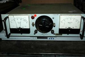 Vintage Hyperion Dc Electric Power Supply 6 60vdc 0 2a Powers Up