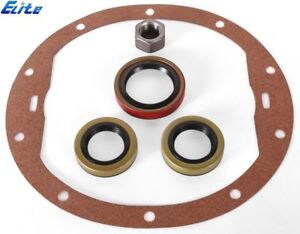 Chevy 12 Bolt Truck Elite Re Seal Kit Pinion Axle Seals Pinion Nut Cover Gasket