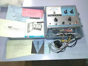 B k 465 Crt Cathode Ray Tube Tester W B w And Color Adapter
