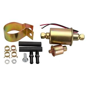 Madlife Garage Universal 5 9 Psi Heavy Duty Low Pressure Electronic Fuel Pump Wi