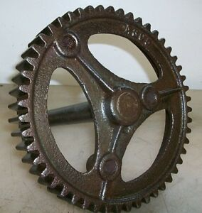 Aermotor 8 Cycle Pump Jack Gear Old Gas Engine Hit And Miss