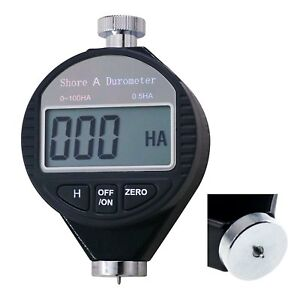 0 100ha Rubber Tire Shore A Digital Hardness Meter Durometer Hardness Tester A