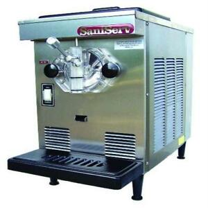 Saniserv 407 7 Qt Soft Serve Ice Cream Machine Frozen Yogurt