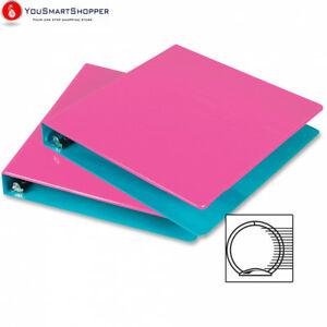Samsill Fashion Two tone Round Ring View Binders