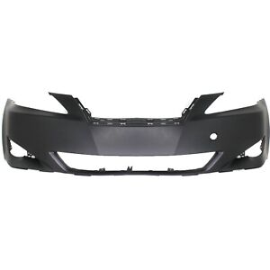 Front Bumper Cover For 06 08 Lexus Is250 W Fog Lamp Holes Is350 Primed Capa
