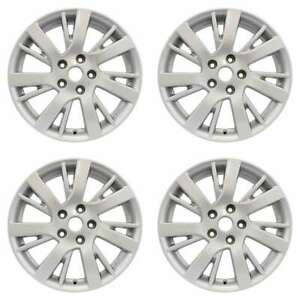 Nissan Sentra 2013 2016 17 Factory Oem Wheels Rims Set