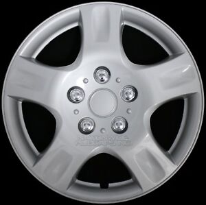 15 Set Of 4 Wheel Covers Snap On 5 Spoke Full Hub Caps Fit R15 Tire