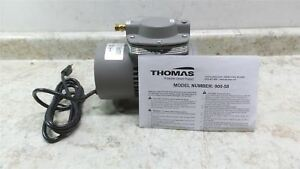 Thomas 900 58 1 15 Hp 115v Diaphragm Vacuum Pump