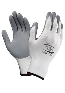 Ansell 11 800 11 Hyflex Made With Kevlar Gloves X small Size 6 12 Pairs