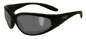 Bifocal Z87 1 5 Safety Glasses Smoked Reading Super Strong Padded Construction