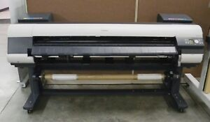Canon Ipf 9000 Wide Format 60inch Color Gicl e Photo Printer Plotter