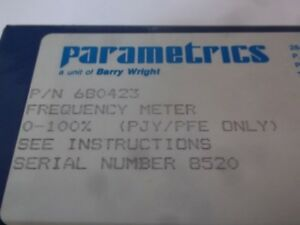 Parametrics 680423 Frequency Meter new No Box