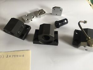 Lot Of 3 Cnc Lathe Tool Holders 2k79400b With Extras