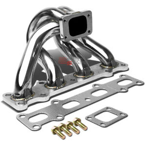 For Miata mx5 Na nb 1 8 T25 t28 Stainless Steel Turbo Charger Header Manifold