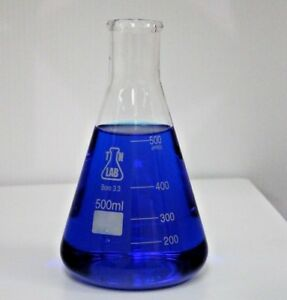 Tn Lab Supply 500 Ml Glass Borosilicate Conical Flask pak Of 8 Ships From Us