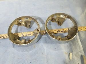 Headlight Bezels Vintage Ford Dodge Chevy Plymouth Chrysler 1940s 1950s 1960s