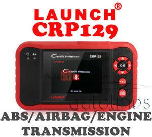 Launch Creader Crp129 Code Reader Scan Tool Obd2 Engine Abs Srs Epb Sas As Viii