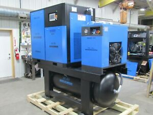 Air max 30hp new Industrial Rotary Screw Compressor W dryer filters 240 Tank