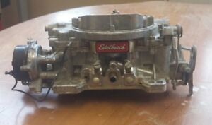 Edelbrock 1406 Performer Series 600 Cfm 4 Barrel Carburetor W Electric Choke