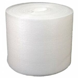 12 X 50 Foam Wrap Roll Protect Glasses Fragile Shipping Moving Packing Office
