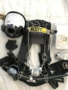 Scott Self Contained Breathing Apparatus scba Backpack With Mask