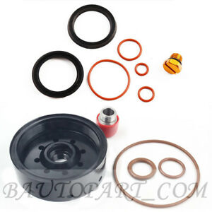 Fuel Filter Base Seal Kit Screw With Adapter Rebuild Head Billet Cnc For 1r 0750