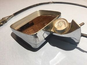 1971 72 73 74 75 76 Cadillac Remote Mirror W Thermometer Part Jc60502 401