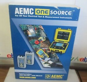 Aemc Instruments One Source Ac dc Current Probe Oscilloscope New
