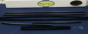 1969 Ford Galaxie Fastback Authentics Door Window Felt Fuzzies Rubber Seal Kit