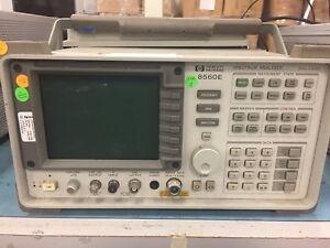Hp 8560e Spectrum Analyzer 30hz 2 9ghz