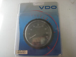 Vdo Tachometer With Hourmeter Programmable For Different Pulses Diesel Tach