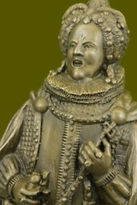 Huge Sale Russian King Upon A Throne Bronze Sculpture Statue Marble Base Figure