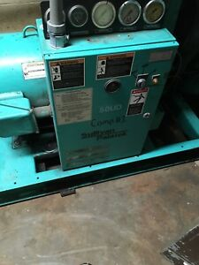 Used Sullivan Palatek 50ud Rotary Screw Air Compressor