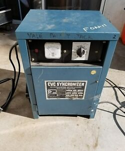 Ibe cvc Battery Charger synchronizer 12 Volt Used Model 6cvc850sd