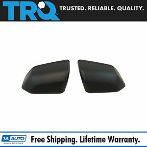 Mirror Cap Textured Black Pair Set Of 2 For Ford F150 Pickup Truck New