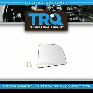 Mirror Glass Heated Blind Spot Passenger Side Right Rh For Ford F150 Pickup New