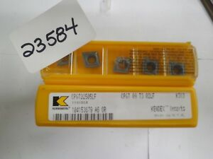 10 Pcs Cpgt32505lf K313 Kennametal Turning Carbide Insert new Pic 23584