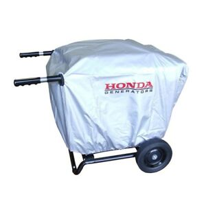 Honda Eu3000is Generator Protective Cover 2 Wheel Kit With Handles 08p60 zs9 00s