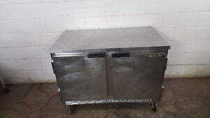True Wtf48a Under Counter Freezer Worktop Prep Table Tested 115v