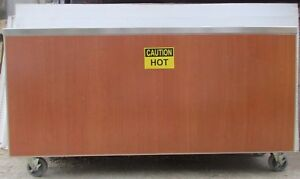 Aladdin Temp Rite Electric 3 Well Hot Food Cart Counter Steam Table 208 1ph 70