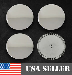 Chevy Gmc Chrome Wheel Center Caps Hubcaps Set Of 4 New 7 13 16