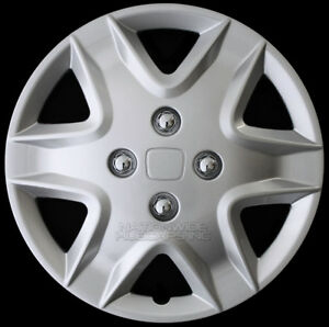 14 Set Of 4 Hubcaps Wheel Covers Snap On Full Hub Caps Fit R14 Tire Steel Rim