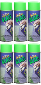 Plasti Dip Performix 6 Pack Blaze Green 11224 6 Aerosol Spray 11 Oz