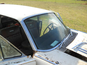1964 1965 Lincoln Continental Front Windshield Complete Trim